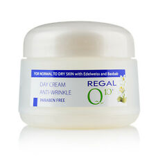 ANTI WRINKLE DAY CREAM WITH BAOBAB'S OIL AND EDELWEISS REGAL Q10+for normal skin
