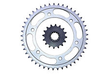 Honda CBR600F (4i) 1-6 (01-06) front & rear sprocket set 16/45 teeth 525 pitch