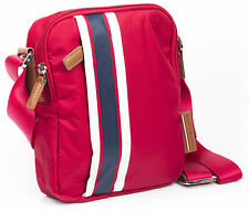 Borsello Tommy Hilfiger Borsa Uomo postino CROSSOVER SMART Shoulder Men Bag Red