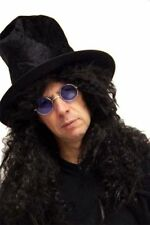 Hard Rocker-Slash-HEAVY METAL ROCK STAR Hat, Wig & Specs Fancy Dress set