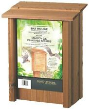 NEW NORTH STATES 1641 CEDAR WOODEN BAT HOUSE NATURALLY CONTROLS INSECTS 1326867