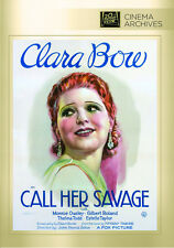 Call Her Savage 1932 (DVD) Clara Bow, Monroe Owsley, Gilbert Roland - New!