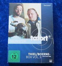 Tatort Thiel/Boerne Box Vol. 3, 3 ihrer besten Fälle, DVD Box