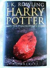 HARRY POTTER and the PHILOSOPHER'S STONE UK HARDBACK FIRST EDITION 1ST PRINT.