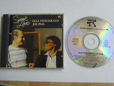 ELLA FITZGERALD JOE PASS SPEAK LOVE 09020400519 - RARE CD QUALITY CHECKED & FAST