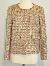JCrew Collection Lady Jacket in Gilded Tweed 10
