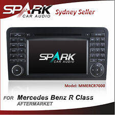 7' GPS NAVIGATION DVD IPOD BLUETOOTH FOR MERCEDES R CLASS R320/R350/R500/R63