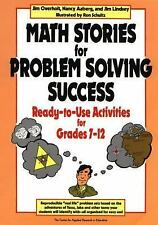 Math Stories for Problem Solving Success: Ready-to-Use Activities for Grades 7-1
