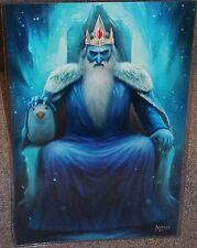 Adventure Time Ice King Glossy Art Print 11 x 17 In Hard Plastic Sleeve