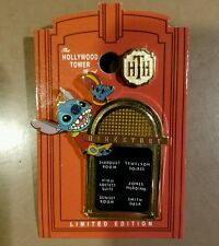 DISNEY PIN LE THE TWILIGHT ZONE TOWER OF TERROR EVENT STITCH WHICH WAY TO GO