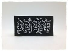 Deicide Sew On Patch Iron Embroidered American Death Metal Heavy Rock Band Music