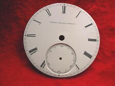 UNITED STATES WATCH CO MARION NJ ORIGINAL CERAMIC FACTORY 18 SIZE DIAL!!   #2