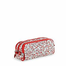 BNWT Kipling GITROY Large Pencil Case/Pouch SWEET FLOWER Spring 17 RRP £29