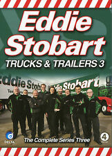 EDDIE STOBART TRUCKS & TRAILERS 3 - THE COMPLETE SERIES THREE - 4 DVD BOX SET