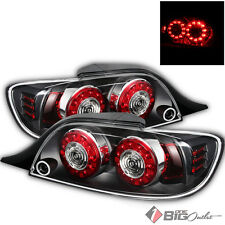 For 04-08 RX-8 Black Housing LED Performance Tail Lights Rear Brake Lamps