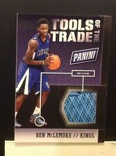 Tools of the trade Shoe BEN McLEMORE #4 Kings RC 2014 2013/14 Panini National