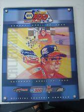NASCAR 2000 NAPA AUTO PARTS 500 CALIFORNIA SPEEDWAY PROGRAM JEFF GORDON