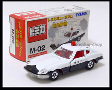 TOMICA M-02 MUSEUM NISSAN FAIRLADY 240ZG PATROL POLICE 1/60 TOMY DIECAST CAR