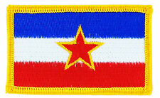 FLAG PATCH PATCHES Yugoslavia  IRON ON EMBROIDERED SMALL
