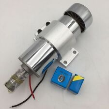 300W DC12-48V Spindle Motor Brushed Air-Cooled ER11 3.175mm Collet CNC Caving