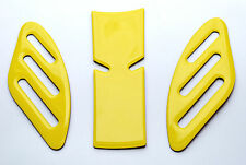 Ducati SCRAMBLER YELLOW SHORT tank Protector pad + Knee grip pads Decal Sticker