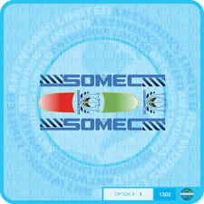 Somec Bicycle Decals - Transfers - Stickers - Set 1