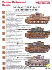 Techmod Decals 1/35 PzKpfw VI TIGER E TANK MID PRODUCTION