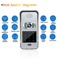 Wireless Wifi Remote Video Camera Phone Visual Intercom Door Bell Night Version