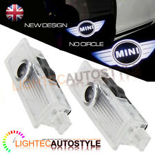 PAIR OF BMW MINI LED CAR DOOR LOGO LIGHT GHOST SHADOW PROJECTOR LASER PUDDLE