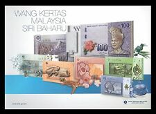 Malaysia Premium Limited Set 1,5,10,20,50 & 100 Ringgit (2012) with folder - UNC