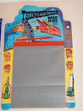 VINTAGE 1969 GERRY ANDERSON THUNDERBIRDS MAGIC SLATE PAPER SAVER  MINT CONDITION