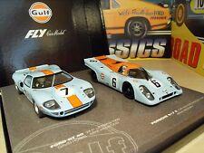 Fly 99046 Porsche 917K y Ford GT40 edición especial del Golfo-totalmente Nuevo En Caja