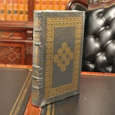 ~ FIGHT CLUB ~ Signed by Chuck Palahniuk Easton Press  Leather Bound Sealed New