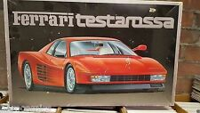 RED Ferrari TESTAROSA 1/16 scale model kit 1884 FUJIMI Miami Vice