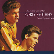 EVERLY BROTHERS - THE GOLDEN YEARS : THEIR 24 GREATEST HITS CD ~ BEST OF *NEW*