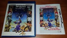 Sinbad and the Eye of the Tiger Blu Ray Twilight Time Signed by Patrick Wayne