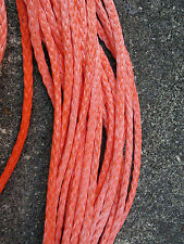 "100' of 1/4"" Dyneema SK-75 Wire Replacement Rope Light Synthetic Winch Line"