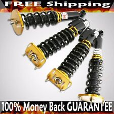 1986-1991 Mazda RX-7 FC3S RS Type Coilover Suspension NON Adj.Dampering GOLD