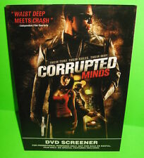 Corrupted Minds DVD Screener Promotional Use Movie Crime Thriller 2006-07