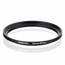 62mm to 67mm 62-67 62-67mm62mm-67mm Stepping Step Up Filter Ring Adapter