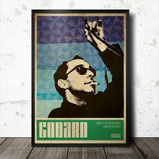 Jean Luc Godard Art Poster Film Cinema Cult Movie Tarkovsky David Lynch Kubrick