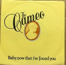 "THE CAMEO BAND-Baby Now That I've Found You-7"" EP 45rpm Record-Loose-LSE2-1983"