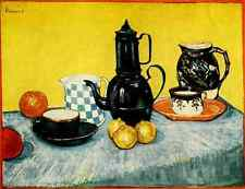 A4 Photo Van Gogh Vincent 1853 1890 The Breakfast Table 1888 Print Poster
