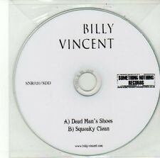 (DD518) Billy Vincent, Dead Man's Shoes / Squeaky Clean - DJ CD