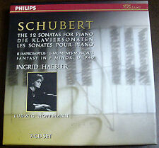 Schubert 12 Sonatas for Piano Haebler PHILIPS GERMANY PMDC 7CD SET ORIGINAL