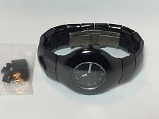 Beautiful Estate Rado Xeramo High Tech Ceramics Quartz Watch Model 160.0453.3