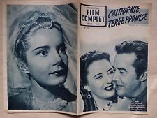 FILM COMPLET 279 Californie terre promise Milland Stanwyck Fitzgerald 1951
