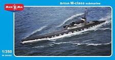 1:350 Mikro Mir #350-025 British M-class Submarine  NEU / NEW !!!