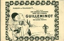 """Publicité Ancienne """" Photo Plaques ou Pellicules GUILLEMINOT 1925 ( P 35) VIRTEL"""