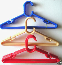 36 PC HANGERS,PANT,SHIRT,DRESS,SKIRT,TOP,TROUSER GARMENTS(MULTI COLOR )